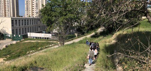 Les élèves de CM2 en visite sur les traces de la Villa Air-Bel