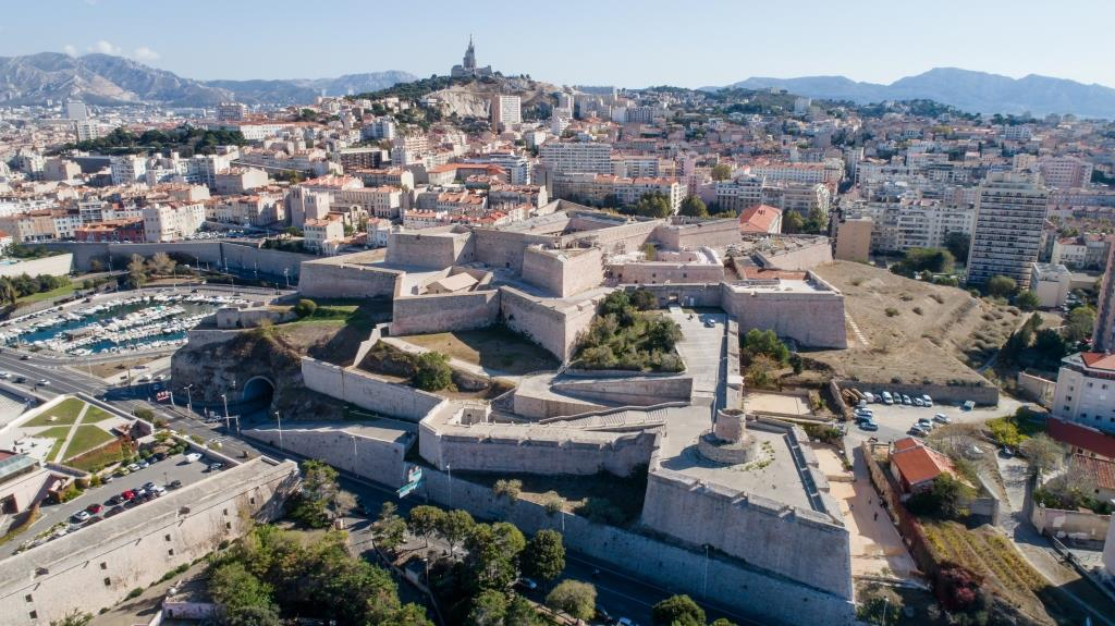 Fort Saint-Nicolas, Marseille, © Acta Vista